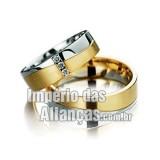 Aliança de noivado e...