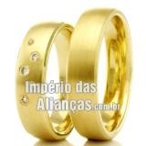 Alianças  de casamento e...