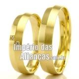 Alianças em Ouro 18k