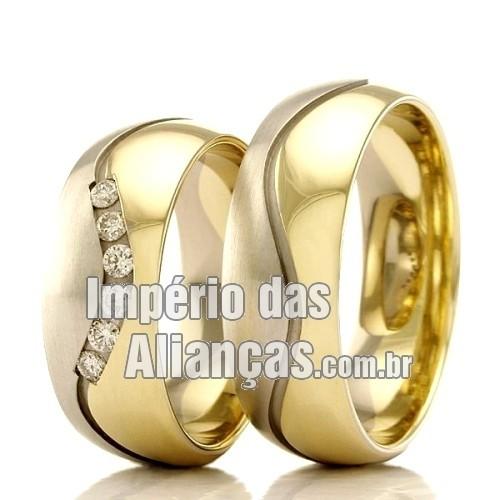b5be1bd6e Alianças de casamento e noivado - Império das Alianças