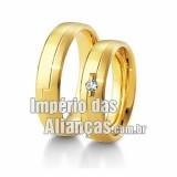 Alianças de casamento em...